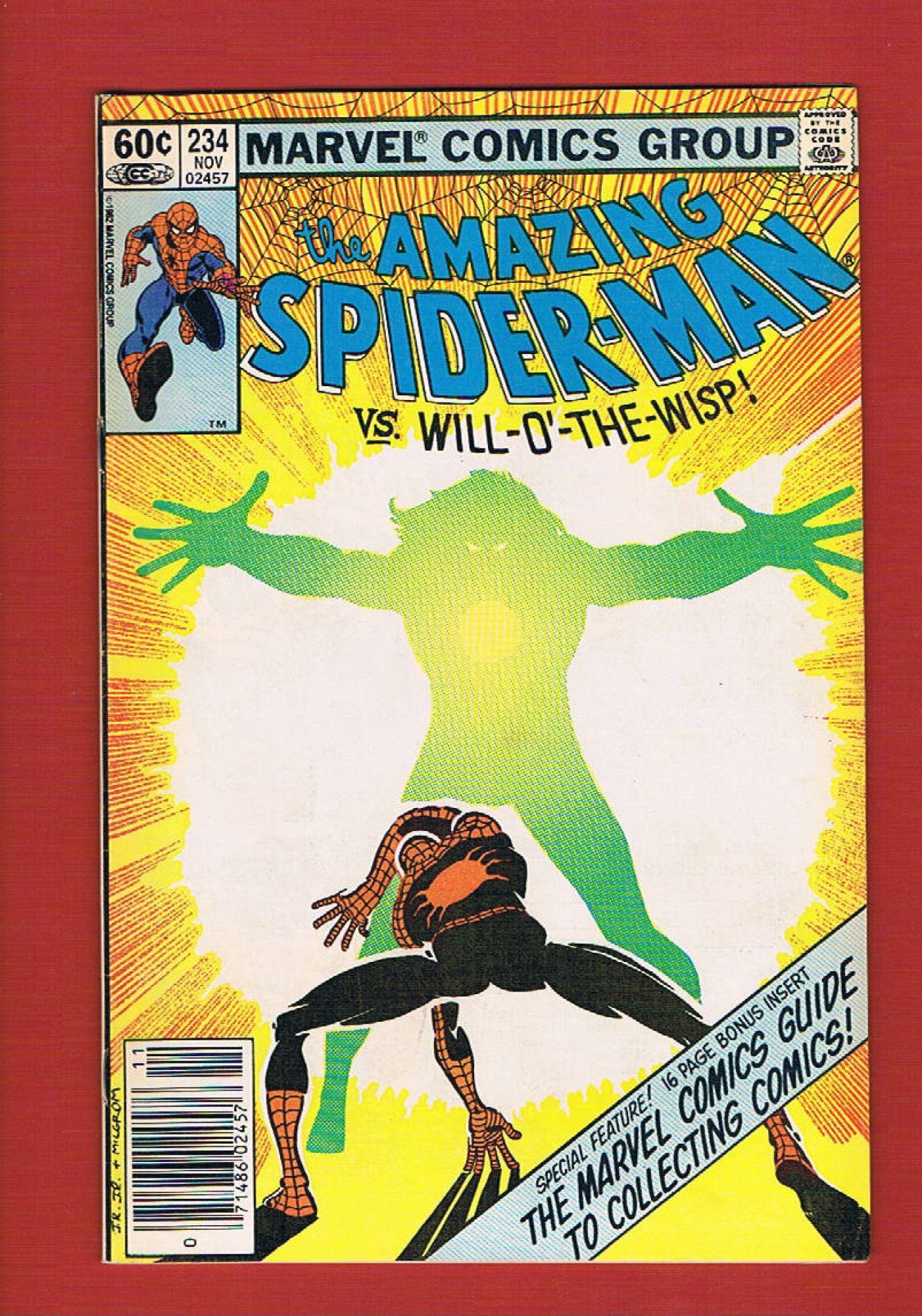 Amazing Spider Man 234 Nov 1982 Marvel Iconic Comics Online